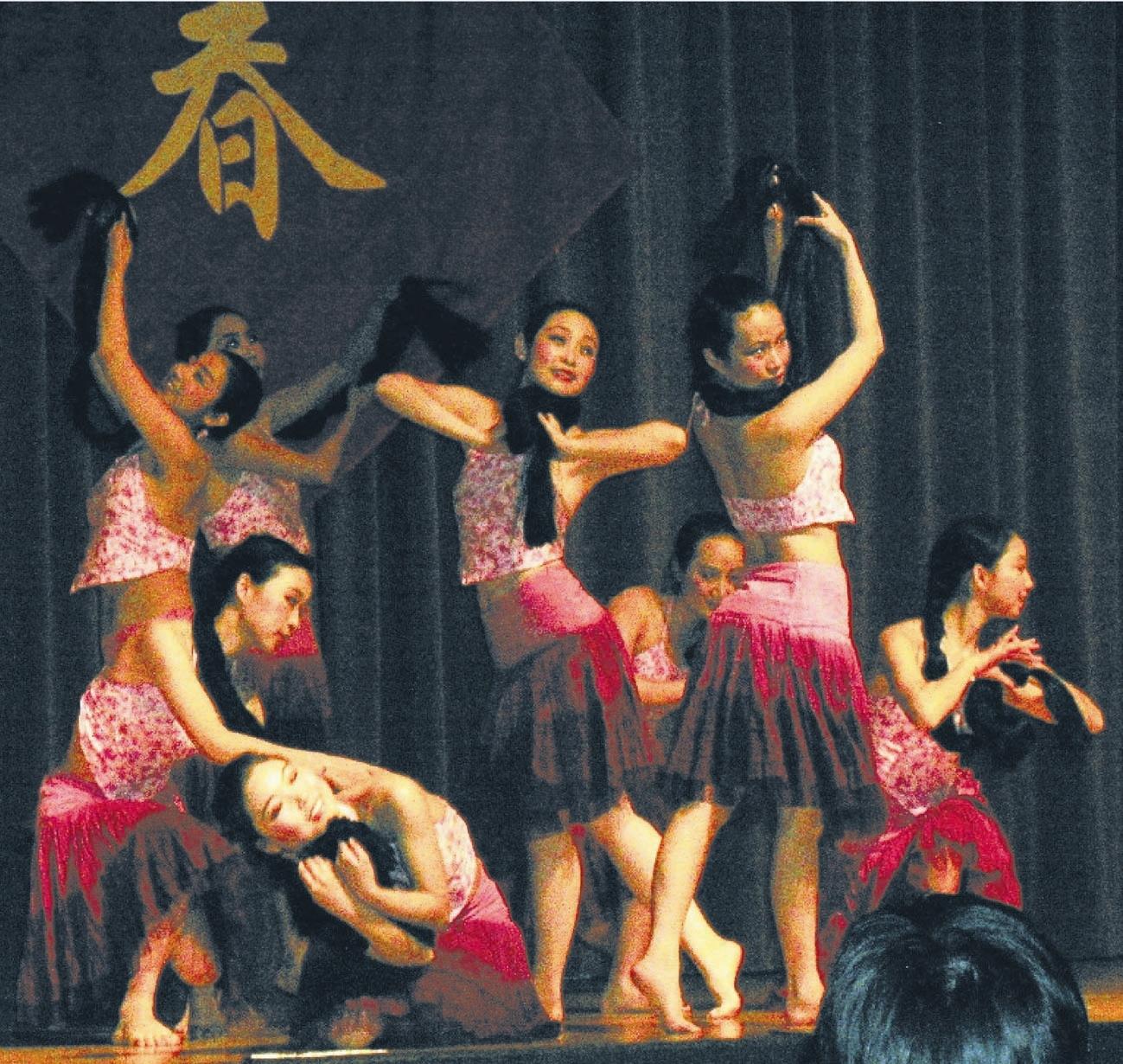 五人舞蹈结束动作; 街舞舞蹈