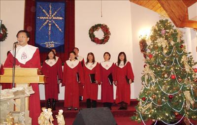 寒冬报佳音 圣诞歌声扬 华人基督教会诗班 儿童合唱Sherwood教会献唱
