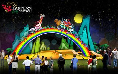 各界透露灯会中自贡市将在植物园现场制作之26件巨型灯艺作品部分内容