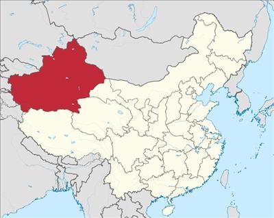 2017年新疆南疆地图